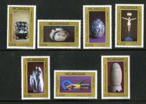 NICARAGUA 1909-1915 MNH SCV $4.60 BIN $2.40 ART