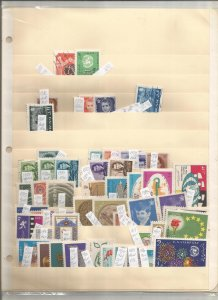 PERSIA COLLECTION ON STOCK SHEET, MINT/USED