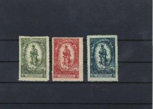 Liechenstein 1920 Mounted Mint Stamps Ref: R7193