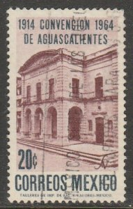 MEXICO 960, 50th Anniv. of the Aguascalientes Convention. USED. VF. (1210)