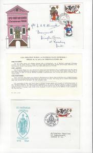 Great Britain 1968 Christmas Covers, 572-4 FDC & Cachet St. Nicholas Church