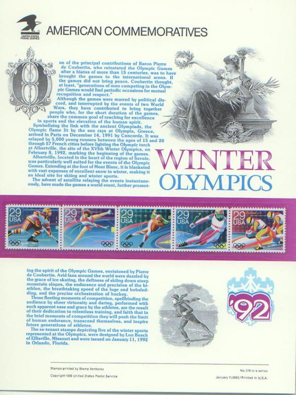 Olympic Winter Games 1992, Set 5