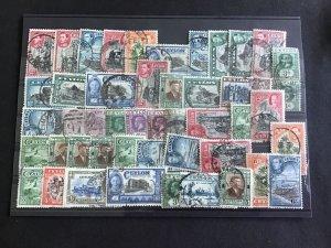 Ceylon Vintage Stamps R38886