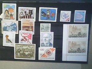 Yugoslavia   MNH  nice lot of stamps
