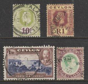 Ceylon x 4 Values to 5R Used