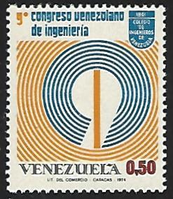 Venezuela #1061 MNH Single Stamp