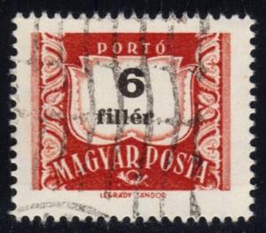 Hungary #J229 Postage Due; CTO (0.25)