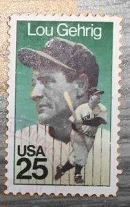 US #2417 Lou Gehrig (Used)