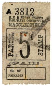 (I.B) Great Central & North Staffordshire Railways : Parcel 5d (Macclesfield)