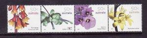 Australia-Sc#2616a-unused NH set-Flowers-2007-
