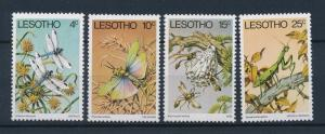 [36176] Lesotho 1978 Insects Butterfly Wasp MNH