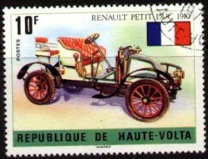 Antique Car, Renault Petit Duc 1910, Burkina Faso stamp SC#362 used