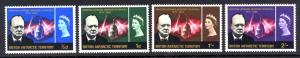 British Antarctic Territory Sc#  16-9 MNH Churchill Memorial