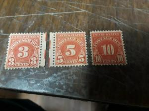 USA Postage Due 1931 MNG