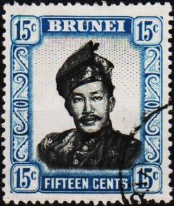 Brunei. 1952 15c. S.G.126 Fine Used