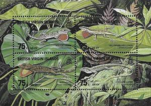 British Virgin Islands Scott # 907 MNH