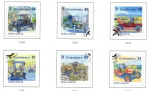 Guernsey Sc 998-03 2008 Ford Model T  stamp set used