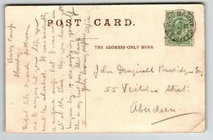 Great Britain 1905 Barry Camp Army PO Card / Light Creases - Z13378