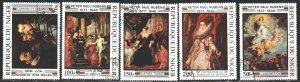 Niger. 1978. 607-11. Rubens, painting. USED.