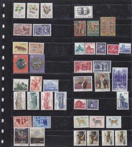 NORWEGEN NORWAY [Lot] 01 ( **/mnh ) kleine Sammlung collection