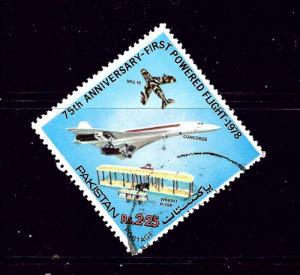 Pakistan 479 Used 1978 Airplanes