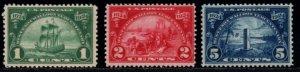 USA, 1924, MNH, Complete series