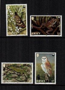 Jersey  507 - 510  MNH  $ 5.00