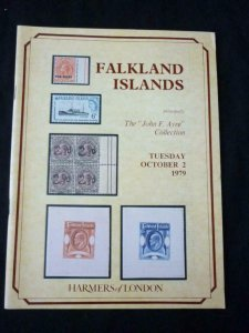HARMERS AUCTION CATALOGUE 1979 FALKLAND ISLANDS 'AYRE' COLLECTION
