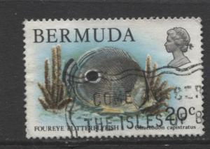 Bermuda - Scott 371 - Birds, Reptiles & Fish -1978 - FU- Single 20c Stamp