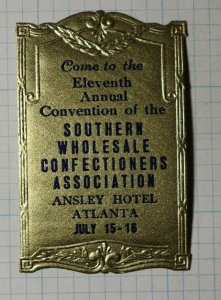 Convention Southern Wholesale Confectioners Assoc Atlanta Industry Poster Stamp