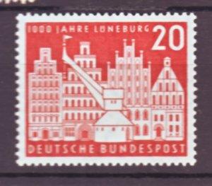 J22452 Jlstamps 1956 germany set of 1 mnh #741 building