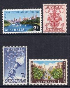 Australia 288-291 Olympics MNH VF