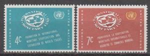 UN #90-91 MNH F-VF (ST1173)