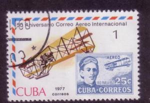 Cuba Sc. # 2160 CTO Airplanes