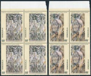 Venezuela 1231-1232 blocks/4,MNH.Mi 2156-2157. Armando Reveron,artist,1980.