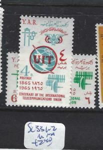 YEMEN (P1604B)  ITU  SG 331-2   MNH