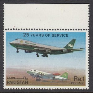 Pakistan 516 Airplane mnh