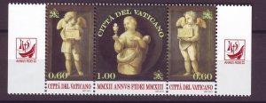 J25223 JLstamps  2013 vatican city strip/3 mnh #1517 religion