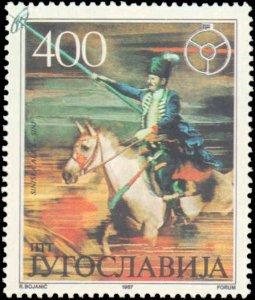 Yugoslavia #1873-1876, Complete Set(4), 1987, Sports, Never Hinged