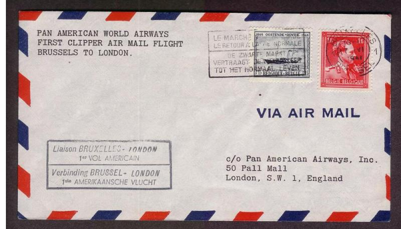 FAM F18-31a - Brussels to London - 6/16/1946