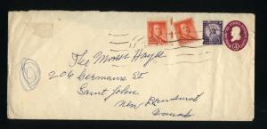 USA #U536   pus 3 stamps 1958  PD