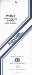 SHOWGARD BLACK MOUNTS 260/46 (10) RETAIL PRICE $10.50