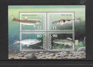 FISH - SLOVENIA #290A    MNH