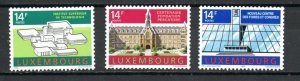 Luxembourg 863-865 MNH
