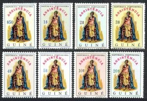 Portuguese Guinea RA37-RA43a, MNH. Mother and Children, 1971