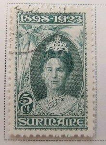 Surinam 1923 5c Fine Used A13P9F944