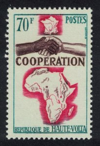 Upper Volta French African and Malagasy Co-operation 1v 1964 MNH SG#151
