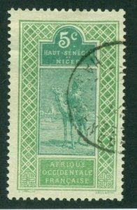 Upper Senegal & Niger 1914 #21 U SCV (2014)=$0.50