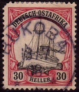 GERMAN EAST AFRICA 1908 30pf - BUKOBA cds..................................33988