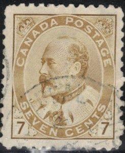 Canada Scott #92 Used (1)